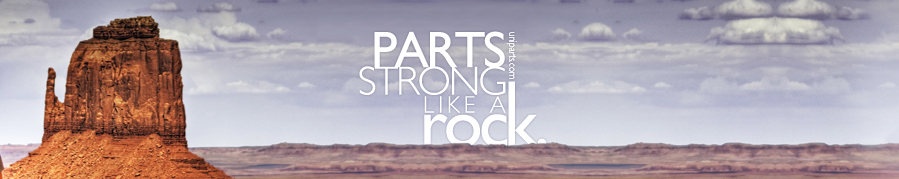 uniparts strong like a rock